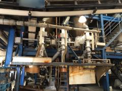 Instalación detectores de metales en caída libre